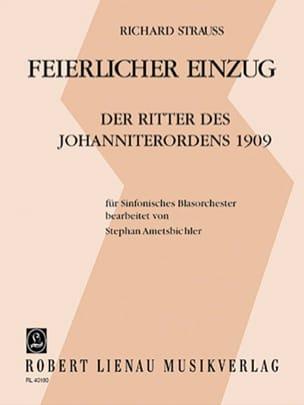 Richard Strauss - Feierlicher Einzug – Partitur - Partition - di-arezzo.fr