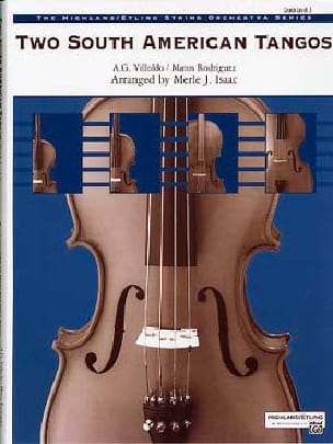 Villoldo / Rodriguez - Two South American Tangos - Sheet Music - di-arezzo.com