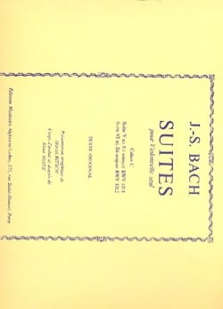BACH - Suites, Book C - Sheet Music - di-arezzo.co.uk