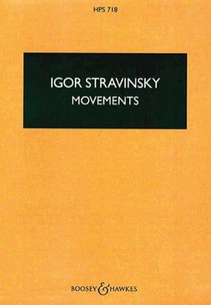 Movements - Score - Igor Stravinsky - Partition - laflutedepan.com