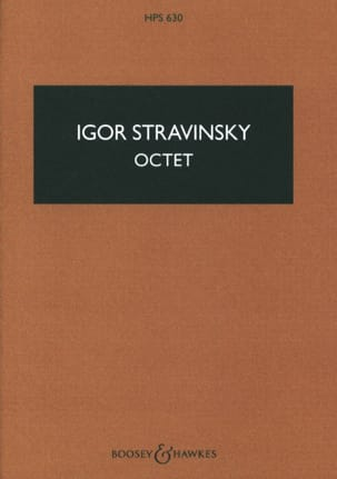 Igor Stravinsky - Byte - Score - Sheet Music - di-arezzo.co.uk