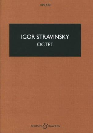 Igor Stravinsky - Octet - Score - Partition - di-arezzo.fr