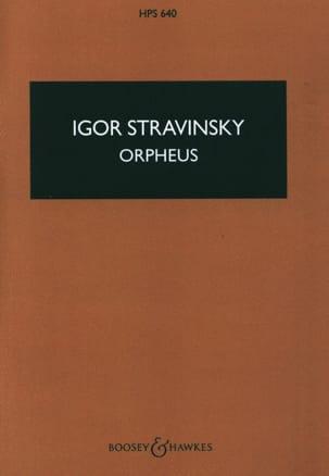 Orpheus - Score - Igor Stravinsky - Partition - laflutedepan.com