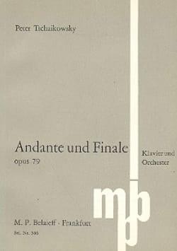 TCHAIKOVSKY - Andante und Finale, op. 79 - Partitur - Sheet Music - di-arezzo.com