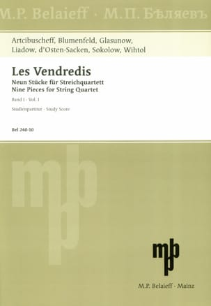 Les Vendredis - Band 1 Partition Grand format - laflutedepan