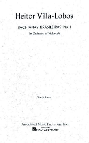 Heitor Villa-Lobos - Bachianas brasileiras n° 1 – Conducteur - Partition - di-arezzo.fr