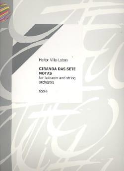Heitor Villa-Lobos - Ciranda das sete notas - Conducteur - Partition - di-arezzo.fr