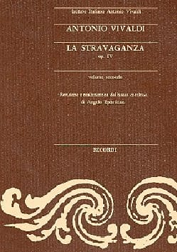 La Stravaganza, op. 4 (Volume 2) – Partitur - laflutedepan.com