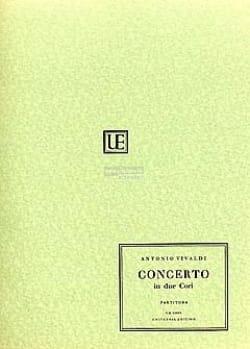 Concerto in due cori – Partitura - Antonio Vivaldi - laflutedepan.com