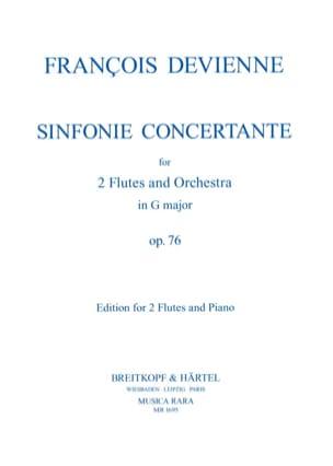 Symphonie concertante op. 76 G major –2 Flutes piano - laflutedepan.com