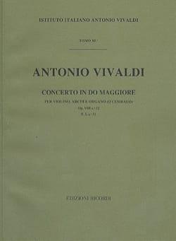 Antonio Vivaldi - Concerto en Do Maj. - F. 1 n° 31 – Partitura - Partition - di-arezzo.fr