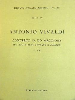 Concerto en Do Maj. - F. 1 n° 47 - Partitura - laflutedepan.com