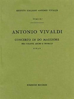 Antonio Vivaldi - Concerto en Do Maj. - F. 6 n° 2 - Partitura - Partition - di-arezzo.fr
