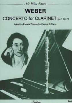 Carl Maria von Weber - Concerto Clarinette n° 1 op. 73 - Partition - di-arezzo.fr