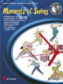 Rik Elings - Moments of Swing - Clarinet - Partition - di-arezzo.fr
