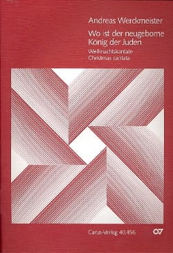 Andreas Werckmeister - Wo ist der neugeborne König der Juden - Partitur - Sheet Music - di-arezzo.co.uk