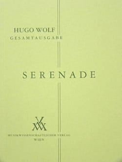 Serenade für Streichquartet - Partitur Hugo Wolf laflutedepan