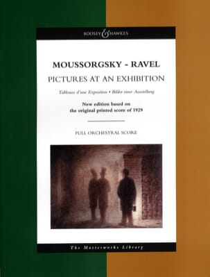 Moussorgski Modeste / Ravel Maurice - Pictures at an Exhibition - Score - Partition - di-arezzo.fr