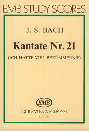 Cantate N° 21 -Partitur - BACH - Partition - laflutedepan.com