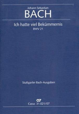 Cantate Ich Hatte Viel Bekümmernis BWV 21 - BACH - laflutedepan.com