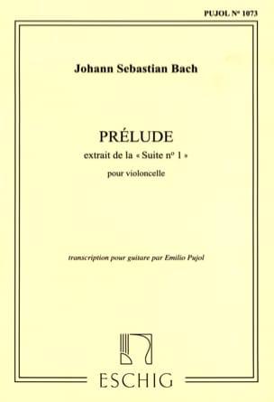BACH - Prélude - Guitar - Partition - di-arezzo.co.uk