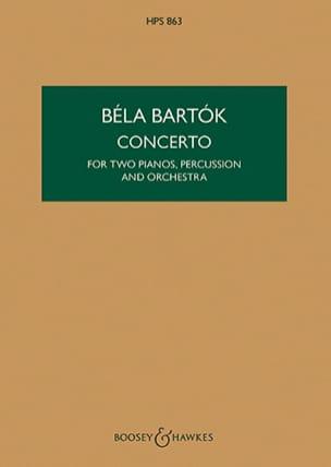 Concerto for 2 pianos, perc. and orch. – Score - laflutedepan.com