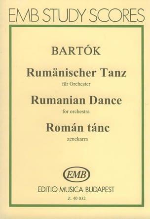 Béla Bartok - Rumänischer Tanz (Orchester) – Partitur - Partition - di-arezzo.fr