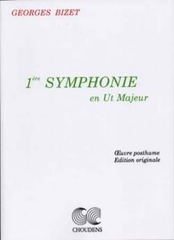 BIZET - Symphonie n° 1 en ut maj. - Conducteur - Partition - di-arezzo.fr