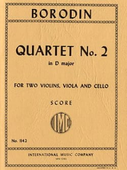 String Quartet n° 2 D major - Score - laflutedepan.com