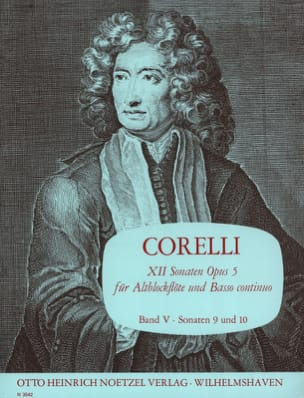12 Sonaten op. 5 - Bd. 5 - Altblockflöte u. Bc CORELLI laflutedepan