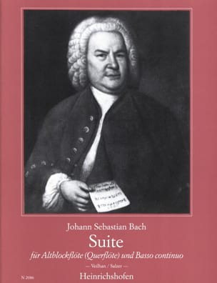 BACH - Suite for Altblockflöte - Sheet Music - di-arezzo.com