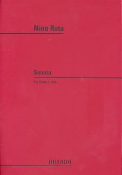 Nino Rota - Sonata - Flauto e arpa - Sheet Music - di-arezzo.co.uk