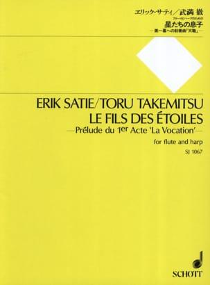 Satie Erik / Takemitsu Toru - El hijo de las estrellas: flauta y arpa - Partitura - di-arezzo.es
