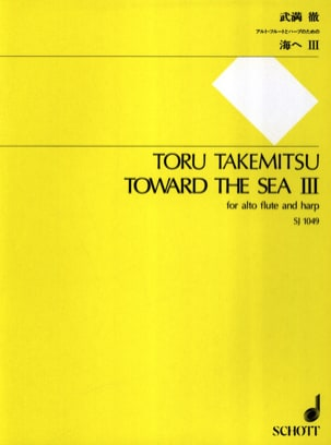 Toward the Sea 3 - Flute alto and harp TAKEMITSU laflutedepan