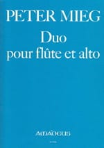 Peter Mieg - Duet for flute and viola - Sheet Music - di-arezzo.co.uk