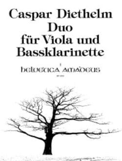 Caspar Diethelm - Duo für Viola und Bassklarinette - Sheet Music - di-arezzo.com