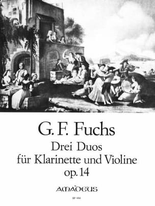 Georg Friedrich Fuchs - 3 Duos opus 14 - Klarinette u. purple - Sheet Music - di-arezzo.co.uk