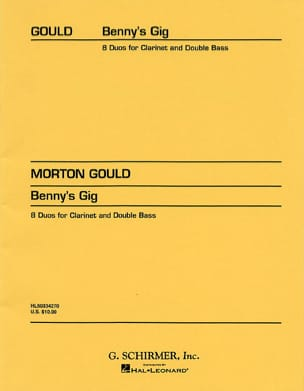 Morton Gould - Benny's Gig - Sheet Music - di-arezzo.co.uk