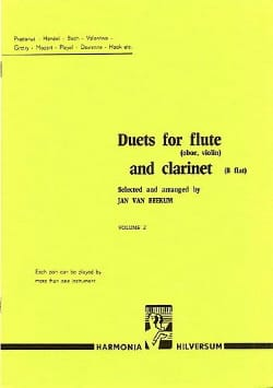 Duets for flute and clarinet - Volume 2 Partition laflutedepan