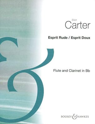 Elliott Carter - Rough spirit / Gentle spirit - Sheet Music - di-arezzo.com
