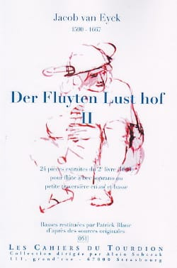 Jacob van Eyck - Der Fluyten Lust Hof Volume 2 - Sheet Music - di-arezzo.co.uk