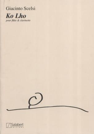 Giacinto Scelsi - Ko Lho - Partition - di-arezzo.fr