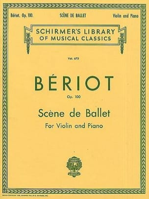BÉRIOT - Ballet Stage op. 100 - Sheet Music - di-arezzo.co.uk