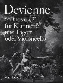 François Devienne - 6 duos op. 21 - Klarinette Fagott o. violoncelo - Partitura - di-arezzo.es