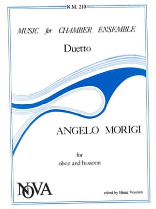 Duetto - Oboe Bassoon - Angelo Morigi - Partition - laflutedepan.com