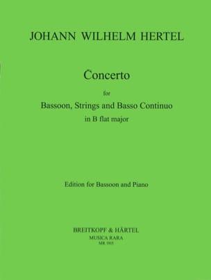Johann Wilhelm Hertel - Concerto in B flat - Sheet Music - di-arezzo.com