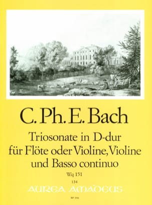 Carl Philipp Emanuel Bach - Triosonate D-Dur Wq 151 - Floe o. Violine Violine u. Bc - Sheet Music - di-arezzo.com