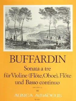 Pierre Gabriel Buffardin - Sonate a Tre - Violine Flöte, Oboe, Flöte Violine u. Bc - Partition - di-arezzo.fr