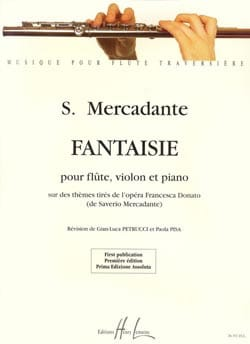 Saverio Mercadante - Fantaisie - Partition - di-arezzo.fr