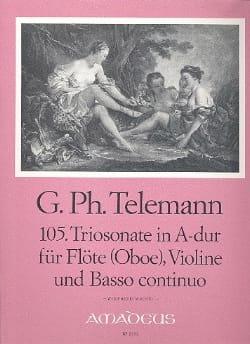 Triosonate Nr. 105 A-Dur –Flöte (Oboe) Violine u. Bc - laflutedepan.com